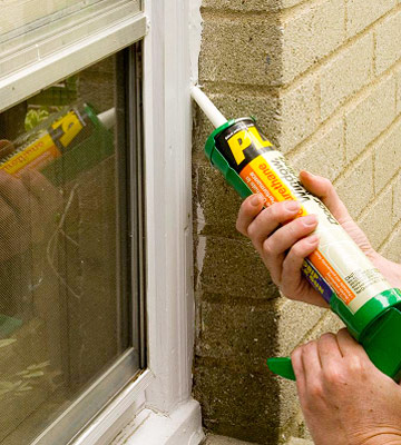 window caulking as a wintertime home improvement project by RB Handyman Services
